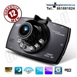 Full HD Vaizdo registratorius su Lietuviška programine įranga | Video registratorius R20 EN 140