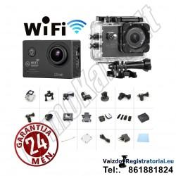 Veiksmo kamera Go Sport Pro 2 | Full HD Laisvalaikio kamera + priedai