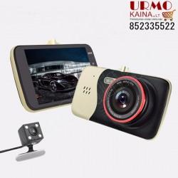 Vaizdo registratorius su galine vaizdo kamera R25K