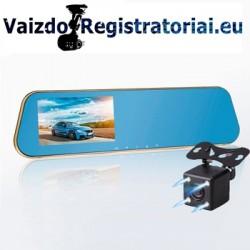 Vaizdo registratorius veidrodis | DVR MIRROR LS3K