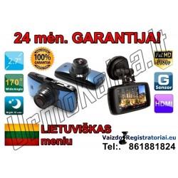 Full HD Vaizdo registratorius su Lietuviška programine įranga | Video registratorius R16