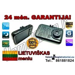 Full HD Vaizdo registratorius su Lietuviška programine įranga | Video registratorius R18