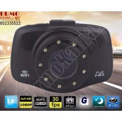 Wifi vaizdo registratorius W70K su galine vaizdo kamera