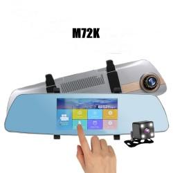 Vaizdo registratorius veidrodis M72K