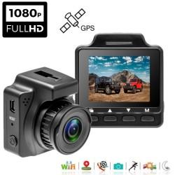 Vaizdo registratorius su GPS ir Wifi W30